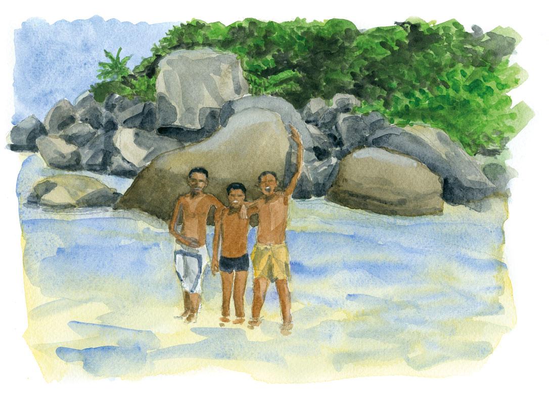 Anse Marie Louise - Seychelles