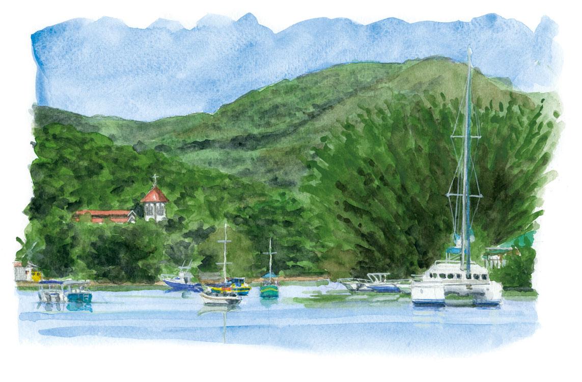 Baie Ste Anne - Praslin - Seychelles
