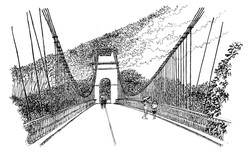 Le Pont Suspendu - La Réunion