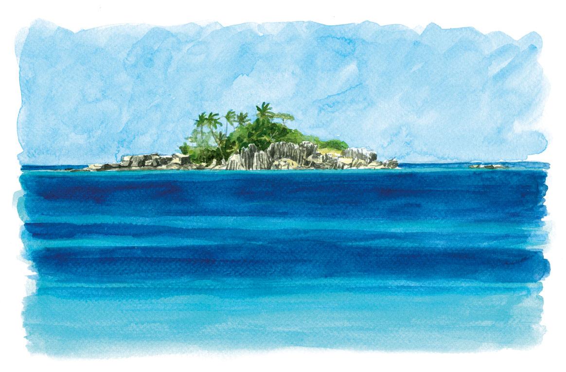 Saint Pierre - Praslin - Seychelles
