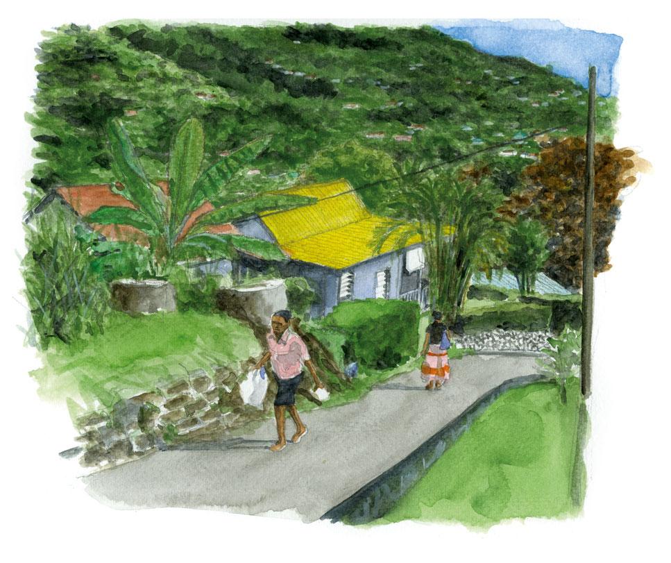 Bel air - Victoria - Seychelles