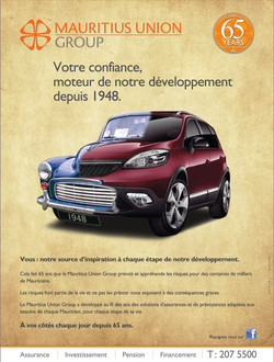 Mauritius Union 65 ans
