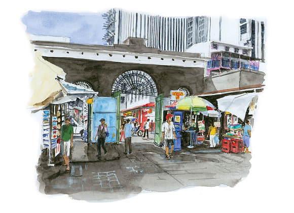 Bazar - Port Louis - Maurice
