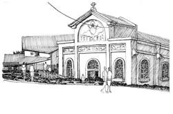 Eglise Piton Ste Rose - La Réunion