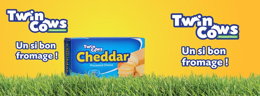 Twin Cows cheddar