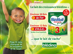 Blédilait pour Blédina