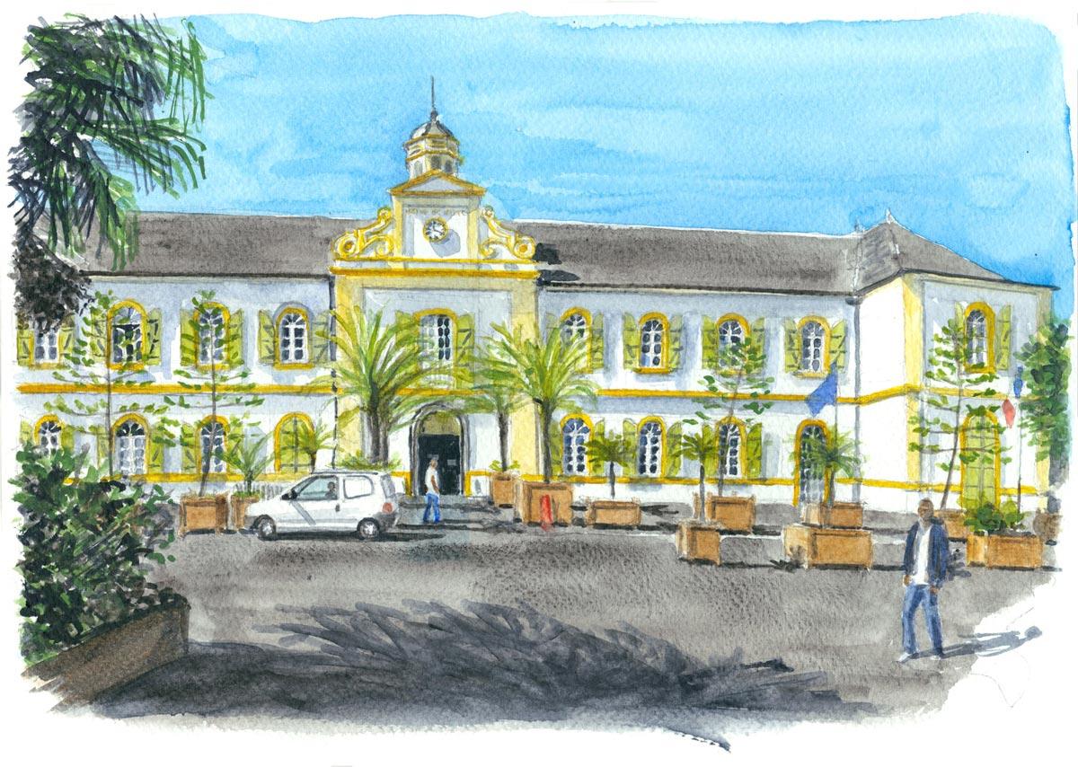 Mairie de Saint Pierre - La Réunion