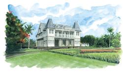 Château de Villebague - Maurice