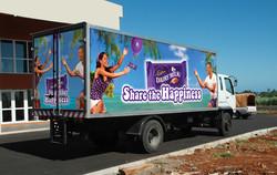 Camion Cadbury
