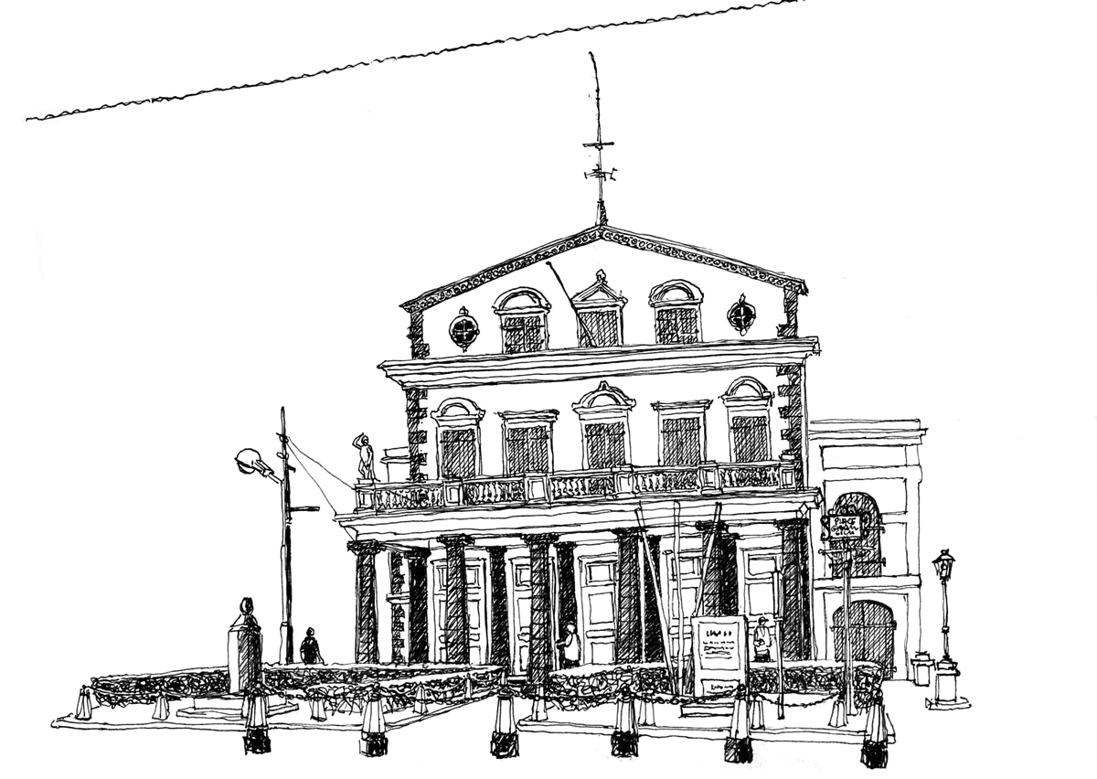 Le Théâtre - Port Louis - Maurice