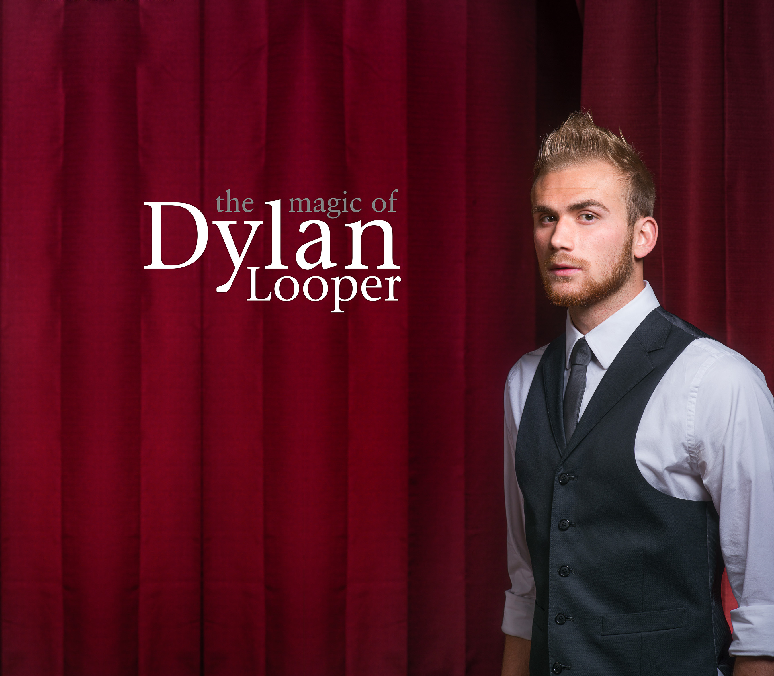 Dylan Looper headshot with name