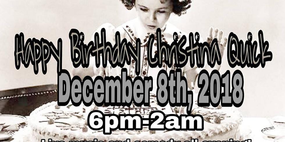Christina Quick's Birthday Bash