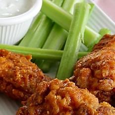 Crispy Jumbo Chicken Wings (1/2 Dozen)