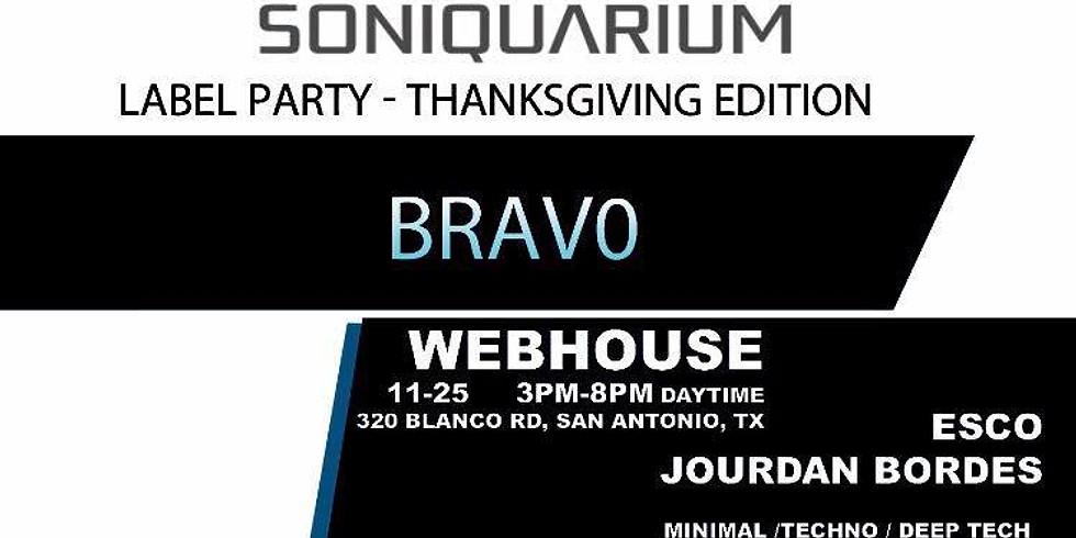 Soniquarium Label Party - Thanksgiving Edition