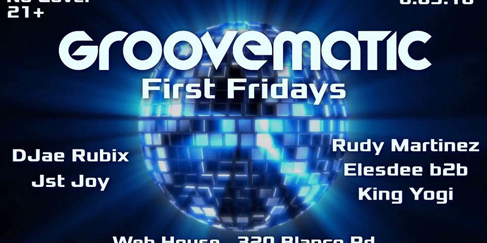 Groovematics First Friday