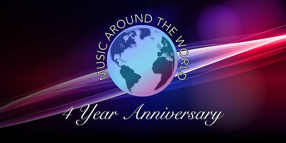 Music Around The World:  4-Year Anniversary Party