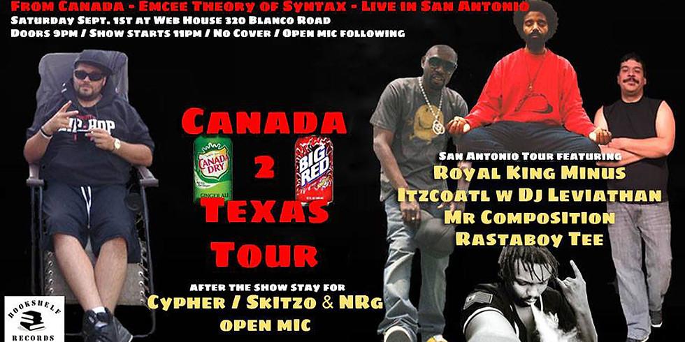 Canada 2 Texas Tour