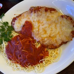 Chicken Parmigian Dinner