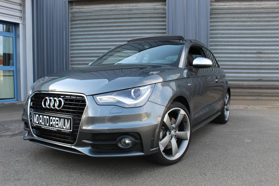Audi A1 S-Line grise 2