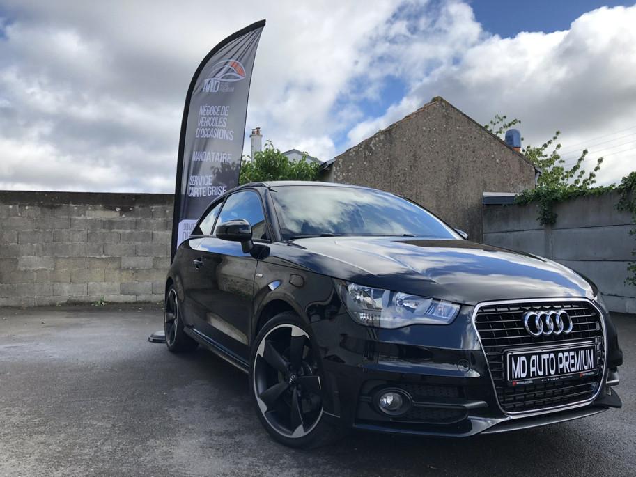 Audi A1 Ambition noir