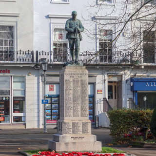 War Memorial, The Parade, Leamington Spa