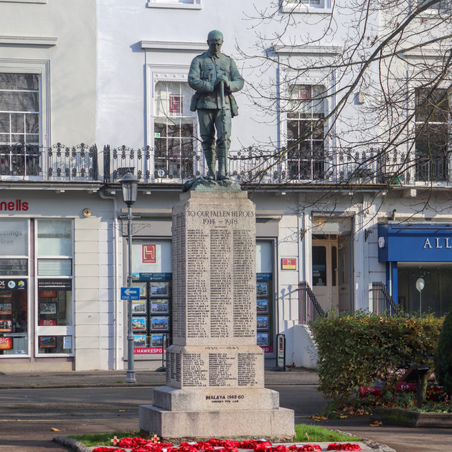 War Memorial, The Parade, Leamington Spa