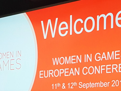 Encouraging Empathy: Attending The Women In Games European Conference 2019