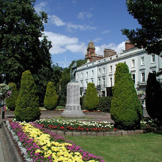 The War Memorial, Royal Leamington Spa