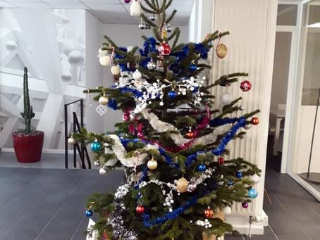 Arbre de Noël : festivités et convivialité pour finir l'année en beauté !