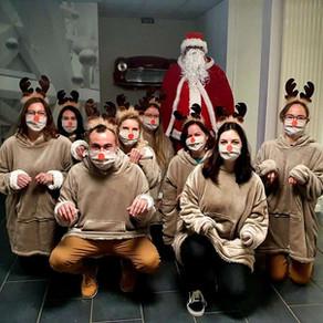Noël hydroalcoolique