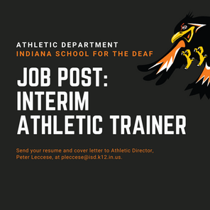 Job Post: Interim Athletic Trainer