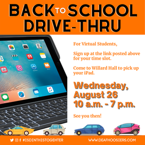 Back to School Drive-Thru for Virtual Students