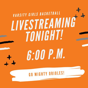 Livestreaming TONIGHT!