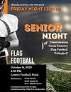Hello ISD Families & Community, It is with GREAT EXCITEMENT that ISD Athletics will host Friday Night Lights & Senior Night! The flag foo...