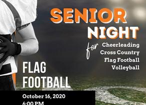It's Friday Night Lights and Senior Night @ Lowe's Field! - October 16