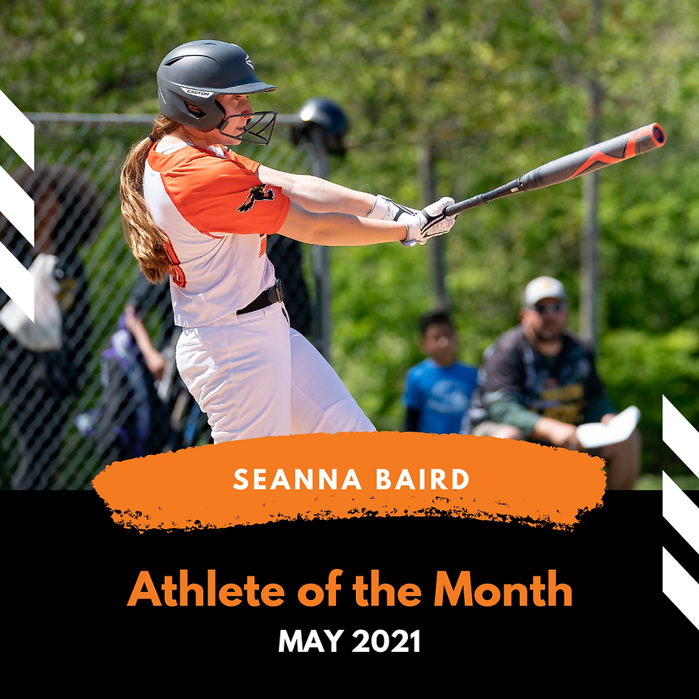 Athlete of the Month - May