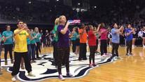 Bulter University Men Bball National Anthem.mp4
