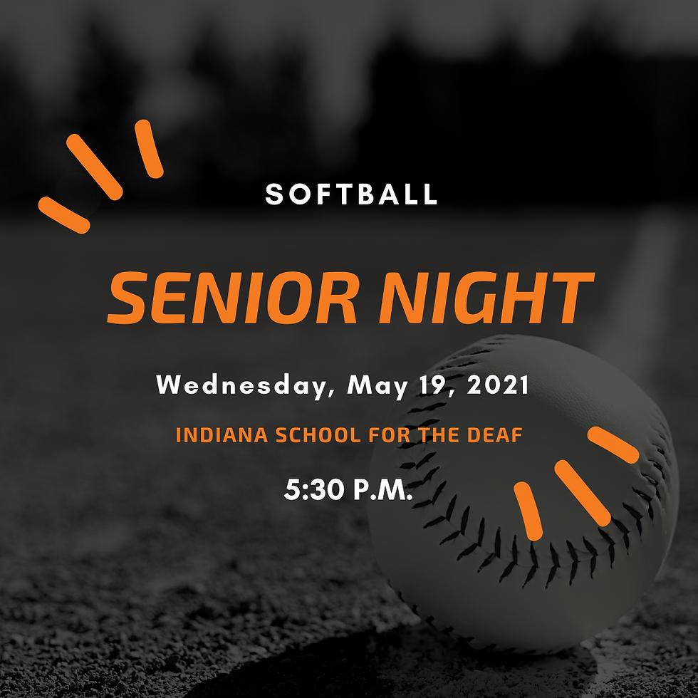 V. Softball Senior Night!