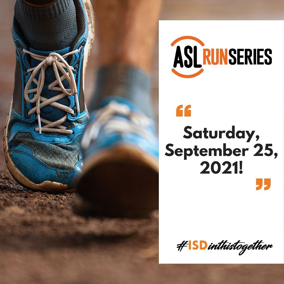 ASL Run Series - We Thrive!