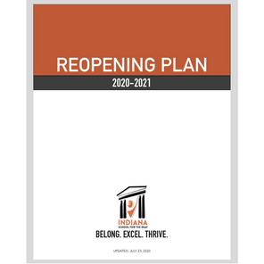 2020 - 2021 Reopening Plan