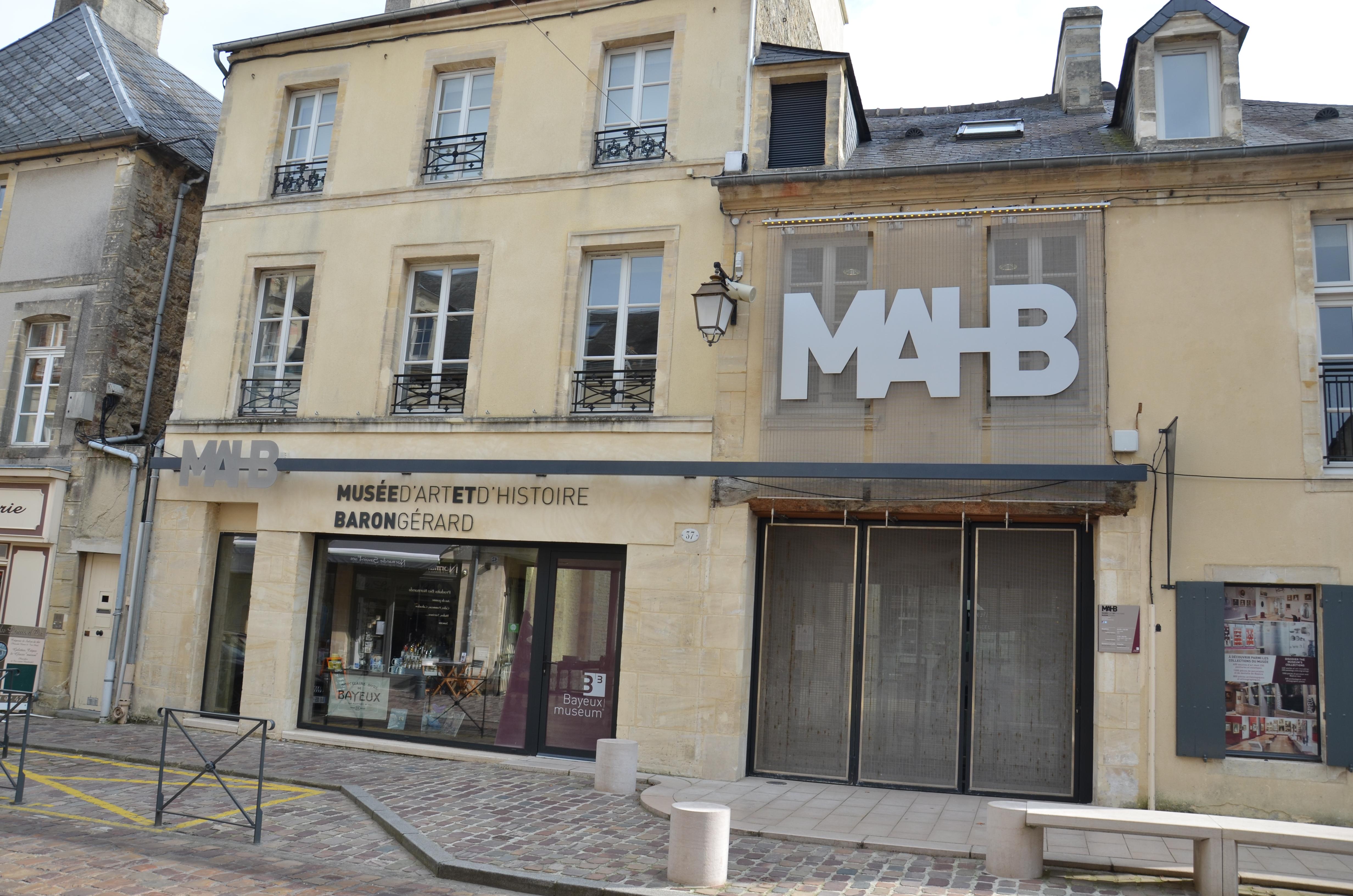 le musée du Baron Gérard Bayeux