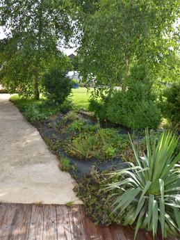 jardin et son accès
