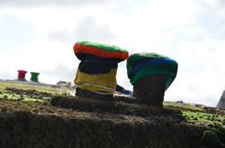 Arromanches, festival de la pluie