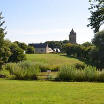 l'église et le four à pain de Villiers-le-Sec
