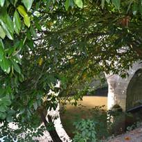 un pont sur la Seulles
