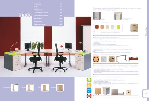 catalogue produits mobilier bureau
