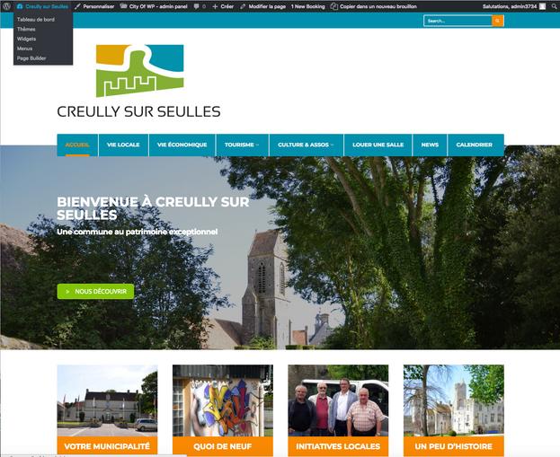 site internet Creully sur Seulles