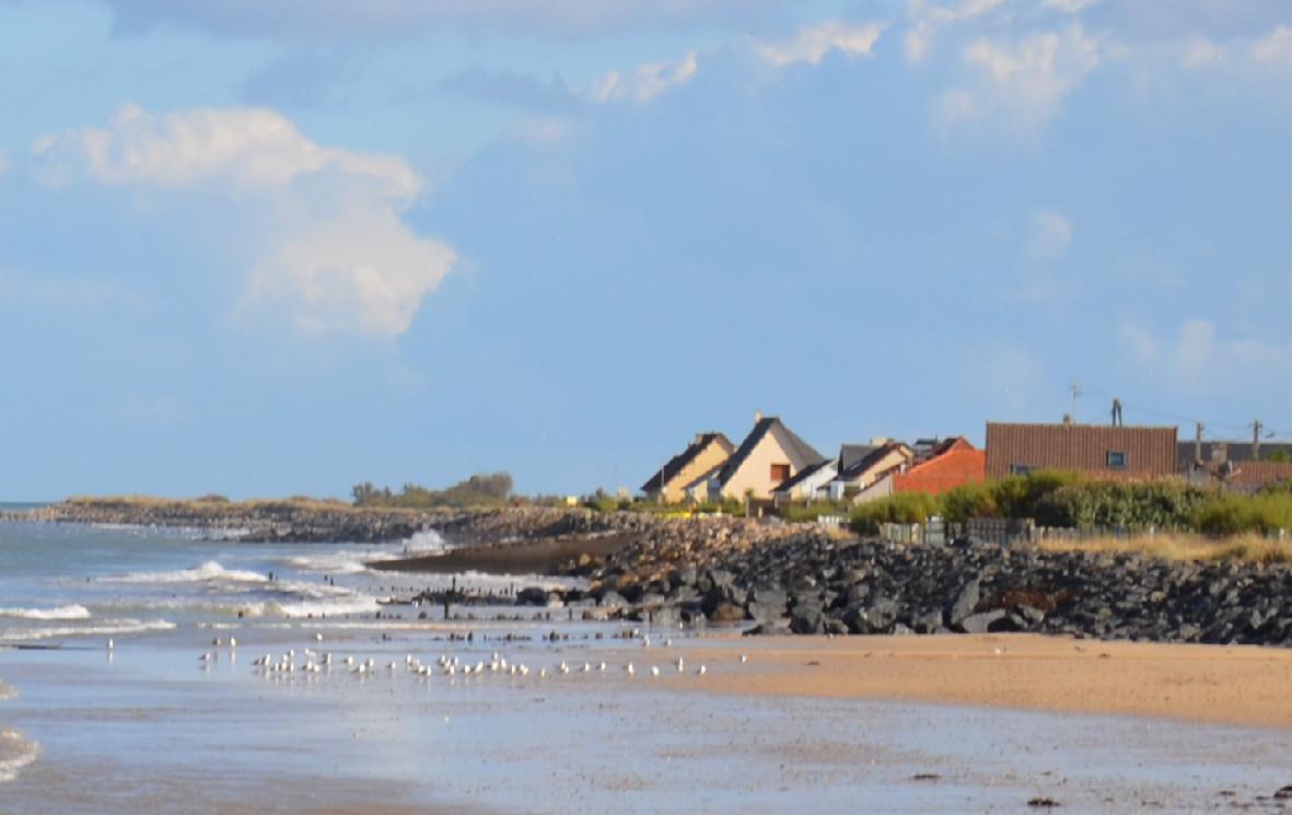 Asnelles et sa plage de sable fin