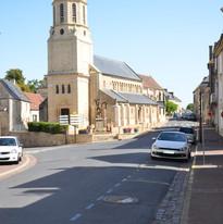 l'église de Creully