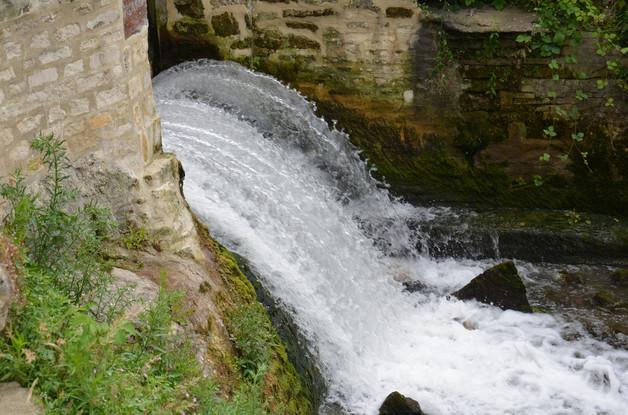 la chute d'eau